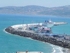 Tangier Port, Morroco