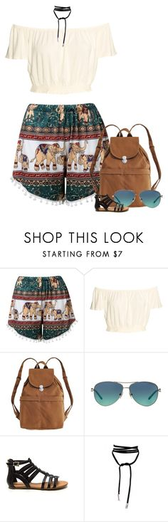 """Untitled #7836"" by fanny483 ❤ liked on Polyvore featuring BAGGU and Tiffany & Co."