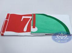 Cờ golf in hình lá cờ - Một sản phẩm của golffami