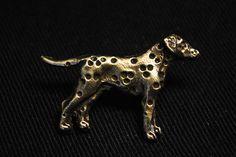 Dalmatian gold dog pin limited edition ArtDog by ArtDogshopcenter