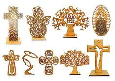 cruces angelitos mdf personalizados 20 cm recuerdos fiestas