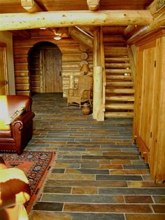 log cabin plans with wrap around porch - Google Search