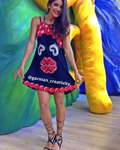 Negrita puloy Hand Embroidery, Diana, Carnival, Summer Dresses, How To Wear, Style, Ideas, Fashion, Diy And Crafts