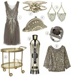 Vintage 1930s glam. We had St. Germain and Cole Porter at our wedding, which inspired this board!