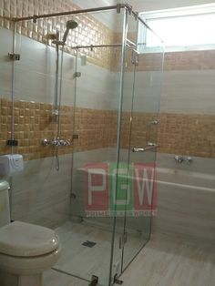 Shower Box Kaca Frameless Shower Box, Divider, Bathtub, Bathroom, Furniture, Home Decor, Standing Bath, Washroom, Bath Tub
