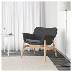 VEDBO Armchair Gunnared dark grey  - IKEA