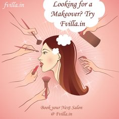 Looking for a makeover? Try http://fvilla.in/... Book your Next Salon / spa Appointment @ http://fvilla.in/
