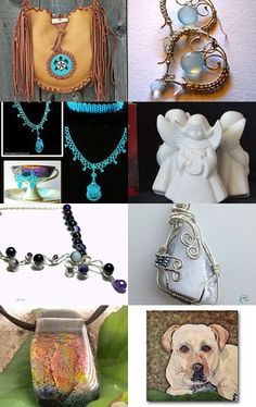 This a beautiful collection of handmade art on Etsy.