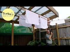Clothes Lines - Burke's Backyard