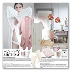 """""""Work from home"""" by stellaasteria ❤ liked on Polyvore featuring H&M, Chloé, Alexander Wang, Lauren Manoogian, Nuuna, ROOM COPENHAGEN, Seletti, Pantone Universe, Jo Malone and happybirthday"""