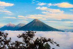 Vista de Volcanes, Guatemala de Andrea Tórtola
