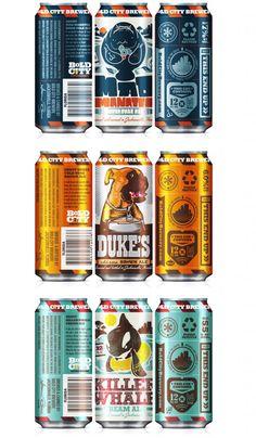 Bold City Brewery: llamativas latas de cerveza