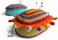 Handicraft Juffie: Irritable cushion with PATTERN