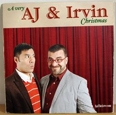 Merry Christmas from AJ and Irvin of Eat the Love!