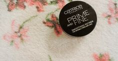 new #review on my #blog about #catrice #primeandfine