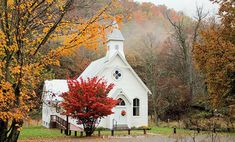Old Country Church   by Carolyn Postelwait THIS IS LETERALLY EXACTLY WHAT I PICTURE GETTING MARRIED IN!!!!!!!!!!!!