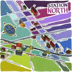 """Station North"" (By: CalebLukeLin)"