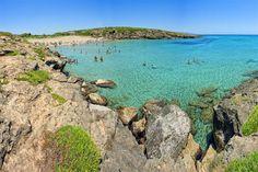 Calamosche beach, Riserva Naturale Oasi Faunistica di Vendicari