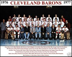 1976–77 Cleveland Barons.
