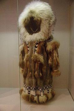 Native Alaskan woman's traditional parka, Museum of the North, Fairbanks, Alaska Photo by neeravbhatt (Neerav Bhatt), Flickr