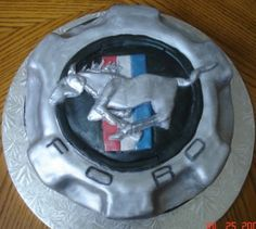 mustang cake for my 21 birthday, I think so.