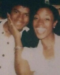 """BernNadette Stanis on Instagram: """"TBT Me and Michael Jackson #TBT #OldSchool #TheJacksons #FortCarson #ColoradoSprings #Thelmaofgoodtimes #Entertainment 😎"""" Michael Jackson Bad Era, Michael Jackson Thriller, Michael Love, Bernnadette Stanis, Black Hair History, Norman Lear, Mike Evans, All In The Family, Jackson Family"""