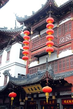 Chinese architecture is in a whole different world. The fine ornate details are highly considered and express their history. Lanterns are also a big feature in Chinese design.