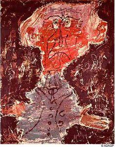 Jean DuBuffet 'Leautaud Sorcier Peau-Rouge' 1946