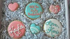 bridesmaid cookie