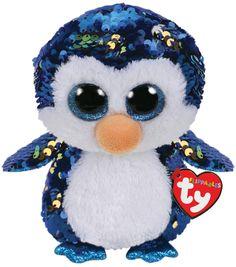 a83fd696731 Ty Inc. Flippables Medium Sequin Payton Penguin. All Beanie BoosBeanie ...