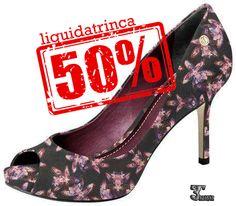 Série amo sapato!!!!Ainda mais com mega desconto#♡♡♡♡♡♡♡Bora arrasar!!!! #liquidatrinca #liquidashoes #amopromocao