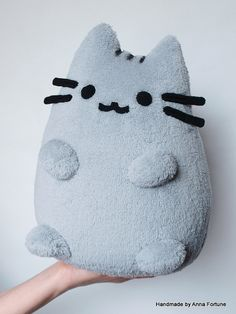 Pusheen The Cat Handmade Plush Toy idea Softies, Plushies, Cute Crafts, Diy And Crafts, Pusheen Cat, Pusheen Plush, Cute Pillows, Diy Pillows, Cute Plush