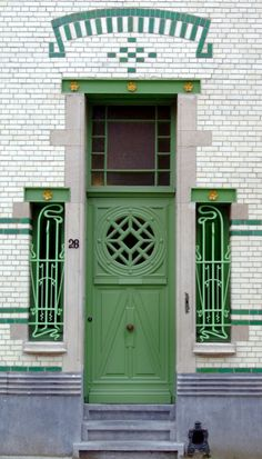 Antwerp, Belgium door.  I was there many years ago when I was 11.