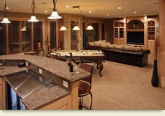 This is definitely my type of game room....
