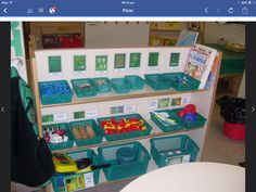 Play dough area