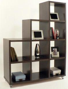 Mueble Biblioteca Escalonada Repisa O Divisor De Ambientes !