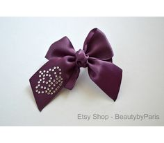 Royal Rhinestone Dog Bow Read Item Details to by BeautybyParis