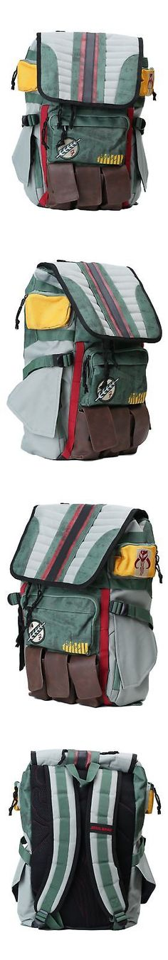 Bags and Pouches 175641: Star Wars Boba Fett Laptop Backpack -> BUY IT NOW ONLY: $69.98 on eBay!