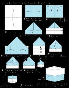 ARTE BUGIGANGA: Cesta - origami