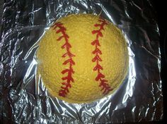 Softball Cake made for TCS Softball Party