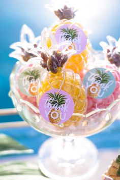 Pineapple containers for sale.......Pineapple Themed Party for Adults