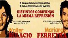 Mariano Ferreyra y Walter Bulacio, las dos caras de la represión estatal