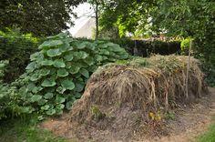 Staudengarten Gross Potrems: Kompost-Post