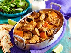 This easy beef vindaloo recipe makes use of your slow cooker to create a tender, flavoursome curry. Featuring ginger, coconut and lime, this curry is the perfect winter warmer