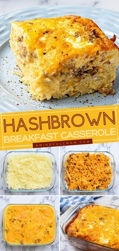 Want an easy and cheesy casserole for Easter brunch? This is the BEST hashbrown breakfast casserole with bacon, sausage, and eggs. Plus, it feeds a crowd! Make this family-friendly hashbrown recipe! Dinner Casserole Recipes, Hashbrown Breakfast Casserole, Potato Dishes, Potato Recipes, Healthy Breakfast Recipes, Breakfast Ideas, Bacon Sausage, Best Casseroles, Easter Brunch