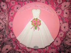 Cake wedding dress bouquet bride rose vk.com/svetkintort
