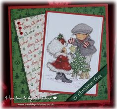 LOTV - Tis the Season Art Pad. Card by Christine Levison