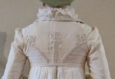 The Shadow of My Hand: Sew sew, cut cut, stitch stich - Regency Spencer reproduction