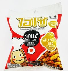 Thai local high protein snack crispy silkworm insect low fat with BBQ flavor #Hiso