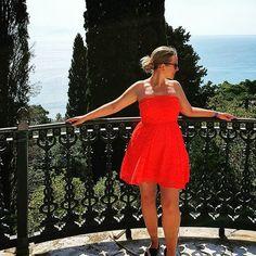 Shit by @sandra_umbenhauer #holiday #vacation #summer #greece #corfu #sea #achilleion #goodtimes #travel #traveltheworld #würzburg #europe #world #earth #nature #view #travelholic #instatravel #dress #inspo #blonde #happy #explore #girlswholiketravel Nature View, Corfu, Good Times, Greece, Strapless Dress, Europe, Earth, Sea, Explore
